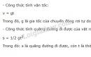 Bài 6 trang 27 SGK Vật lí 10
