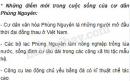 Những điểm mới trong cuộc sống của cư dân Phùng Nguyên là gì ? So sánh với cư dân Hoà Bình - Bắc Sơn.