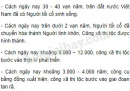 Trình bày những giai đoạn phát triển chính của thời nguyên thuỷ ở Việt Nam