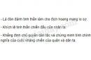 Phân tích ý nghĩa của bài thơ Nam quốc sơn hà.