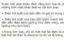 Bài 1 trang 106 SGK Vật lí 11