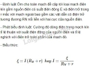 Bài 1 trang 54 SGK Vật lí 11