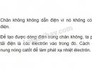 Bài 1 trang 99 SGK Vật lí 11