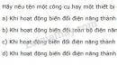 Bài 2 trang 49 SGK Vật lí 11