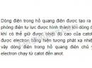 Bài 4 trang 93 SGK Vật lí 11