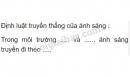 Bài 3 trang 25 SGK Vật lí 7