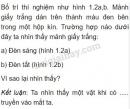 Bài C2 trang 4 SGK Vật lí 7