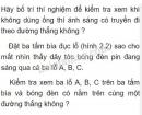 Bài C2 trang 6 SGK Vật lí 7