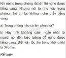 Bài C3 trang 40 SGK Vật lí 7
