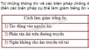 Bài C3 trang 44 SGK Vật lí 7