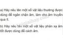 Bài C4 trang 44 SGK Vật lí 7