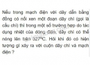 Bài C4 trang 61 SGK Vật lí 7