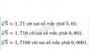 Bài 1 trang 23 sgk đại số 10
