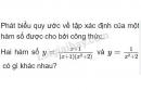 Câu 1 trang 50 SGK Đại số 10