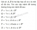 Bài 11 trang 25 SGK Đại số 10