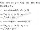 Bài 2 trang 50 SGK Đại số 10