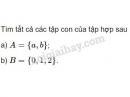 Bài 3 trang 13 SGK Đại số 10