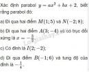 Bài 3 trang 49 SGK Đại số 10