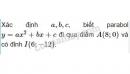 Bài 4 trang 50 (Hàm số bậc hai) SGK Đại số 10