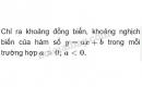 Bài 4 trang 50 (Ôn tập chương II - Hàm số bậc nhất và bậc hai) SGK Đại số 10