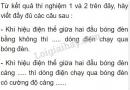 Bài C3  trang 72 sgk vật lí 7