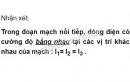 Bài C3 trang 77 SGK Vật lí 7
