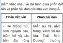 Bài 1 trang 43 SGK Địa lí 8