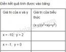 Bài 9 trang 8 SGK Toán 8 tập 1