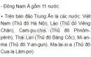 Dựa vào hình 15.1 và bảng 15.2, hãy cho biết: Đông Nam Á có bao nhiêu nước? Kể tên các nước và thủ đô từng nước. So sánh diện tích, dân số của nước ta với các nước trong khu vực.