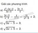 Bài 1 trang 62 SGK Đại số 10