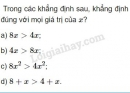 Bài 1 trang 79 SGK Đại số 10