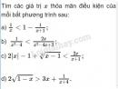 Bài 1 trang 87 SGK Đại số 10