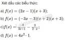 Bài 1 trang 94 SGK Đại số 10