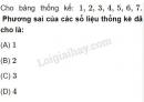 Bài 10 trang 131 SGK Đại số 10