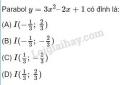 Câu 14 trang 51 SGK Đại số 10