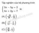 Câu 16 trang 72 SGK Đại số 10