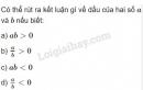 Bài 2 trang 106 SGK Đại số 10