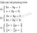 Bài 2 trang 68 SGK Đại số 10