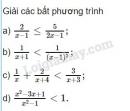 Bài 2 trang 94 sgk đại số 10