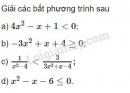 Bài 3 trang 105 SGK Đại số 10