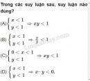 Bài 3 trang 106 SGK Đại số 10