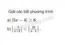 Bài 3 trang 94 SGK Đại số 10