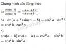 Bài 4 trang 154 SGK Đại số 10