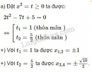 Bài 4 trang 62 sgk đại số 10