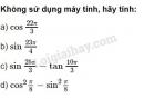 Bài 5 trang 156 SGK Đại số 10