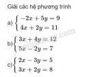Bài 5 trang 70 SGK Đại số 10