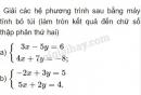 Bài 7 trang 68 sgk đại số 10