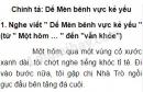 Chính tả: Dế Mèn bênh vực kẻ yếu trang 4 SGK Tiếng Việt 5 tập 1