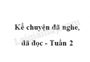 Kể chuyện đã nghe đã đọc trang 18 SGK Tiếng Việt 4 tập 1