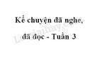 Kể chuyện đã nghe, đã đọc trang 29 SGK Tiếng Việt 4 tập 1